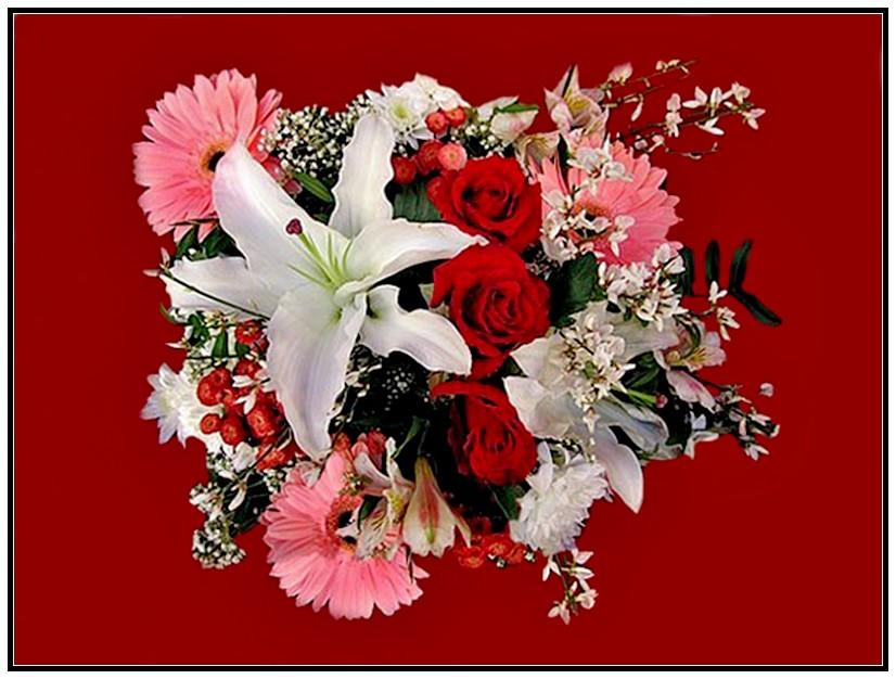 La ronde des bouquets essentiellement nature for Bouquet saint valentin