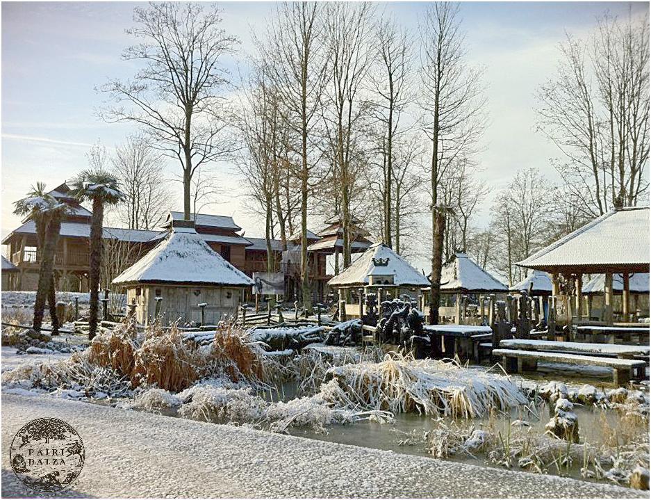 Pairi Daiza hiver 6